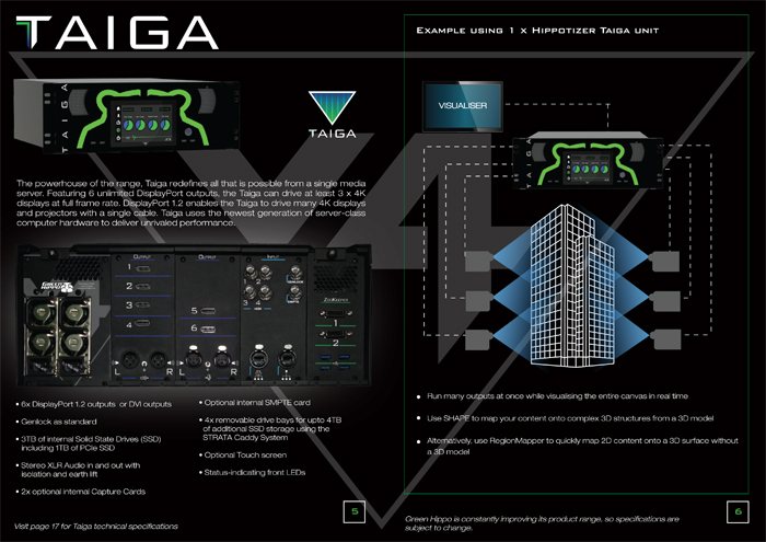Hippotizer V4- brochure