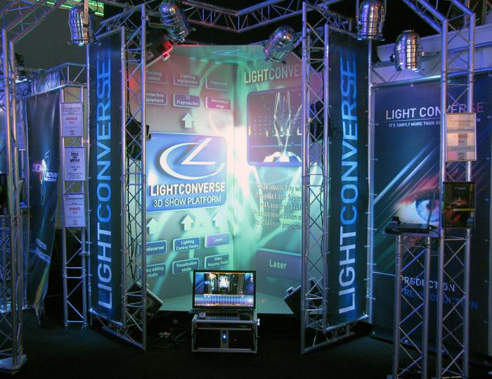 LIGHTCONVERSE @ Prolight+Sound 2011