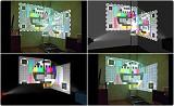 проекция видео на сложные объекты